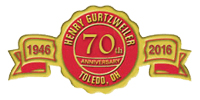 70 Years Anniversary Badge